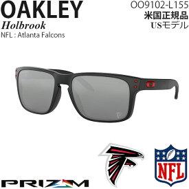 Oakley サングラス Holbrook NFL Collection プリズムレンズ Atlanta Falcons