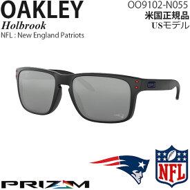Oakley サングラス Holbrook NFL Collection プリズムレンズ New England Patriots