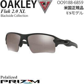Oakley サングラス 軍用 SIシリーズ Flak 2.0 XL Blackside Collection OO9188-6859