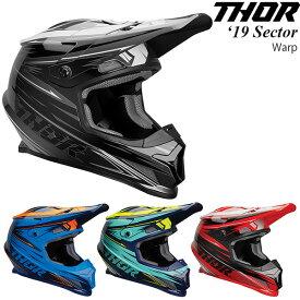 Thor ヘルメット Sector 2019年 最新モデル Warp