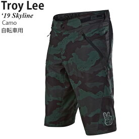 Troy Lee ショートパンツ 自転車用 Skyline 2019年 最新モデル Camo