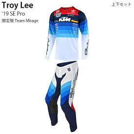 Troy Lee 上下セット 限定版 SE Pro 2019年 モデル Team Mirage パンツ & ジャージ