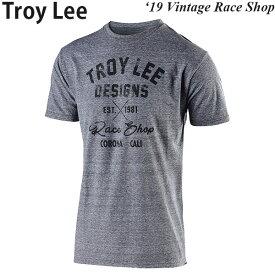 Troy Lee カジュアルシャツ 半袖 Vintage Race Shop 2019年 最新モデル