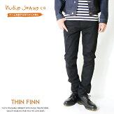 【nudiejeansヌーディージーンズ】【THINFINN/シンフィン】ブラック/BLACK/スキニー/MEN'S/メンズ/インポート/ブランド/THINFINN-470