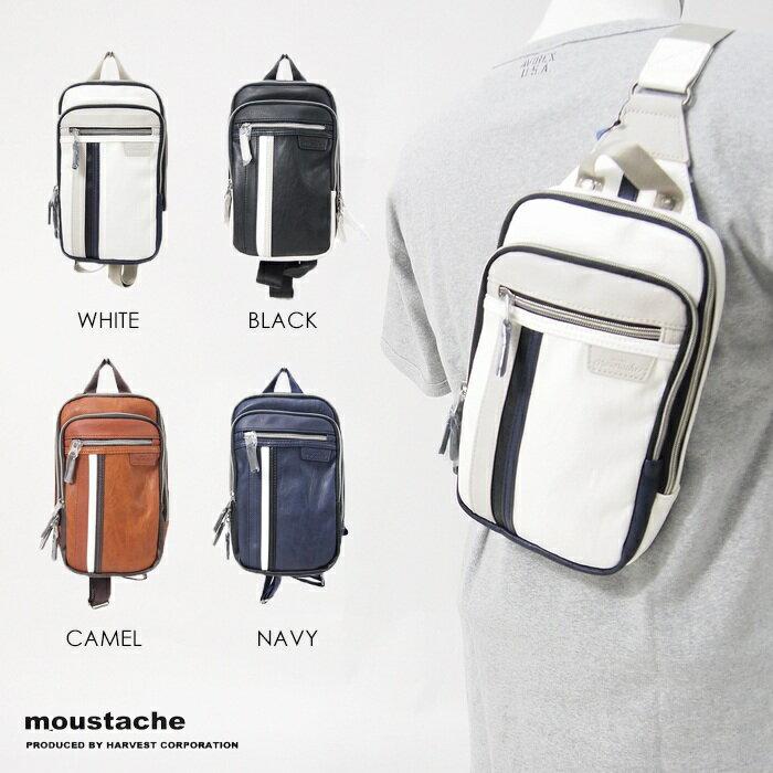 【moustache ムスタッシュ】 ボディバッグ バッグ BAG かばん 鞄 メンズ men's レディース lady's JGO-4324