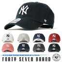 【47Brand フォーティーセブンブランド】 CAP キャップ スナップバック ホワイト yankees SNAPBACK 帽子 ニューヨーク・ヤンキース メ…