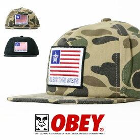 【OBEY オベイ】 キャップ 帽子 CAP スナップバックキャップ ストリート スケボー グラフィック メンズ men's 正規品 インポート ブランド 海外ブランド ストリートブランド 6348300