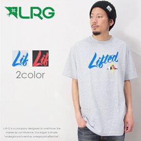 【LRG エルアールジー】 tシャツ 半袖 プリント ストリート スケーター グラフィック メンズ men's 正規品 インポート ブランド 海外ブランド J171063