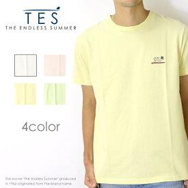 【THE ENDLESS SUMMER ザエンドレスサマー】【TES テス】 tシャツ 半袖 BUHI ワンポイント サーフ アメカジ メンズ men's FH-8574364