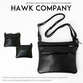 9074e6ad23f2 【Hawk Company ホークカンパニー】 バッグ bag ショルダーバッグ レザー かばん 鞄 小物 グッズ メンズ