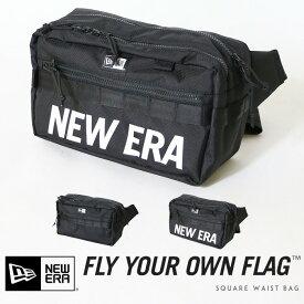 【NEWERA ニューエラ NEW ERA】 ウエストバッグ ボディバッグ ショルダー バッグ かばん 7L men's メンズ プレゼント 彼氏 男性 SQUARE WAIST BAG/スクエアウエストバッグ 11556601/12108396