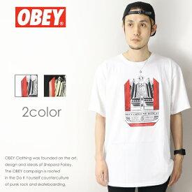 【セール 30%OFF】【OBEY オベイ】 tシャツ 半袖 プリント スケート ストリート グラフィック メンズ men's 正規品 インポート ブランド 海外ブランド 163081684