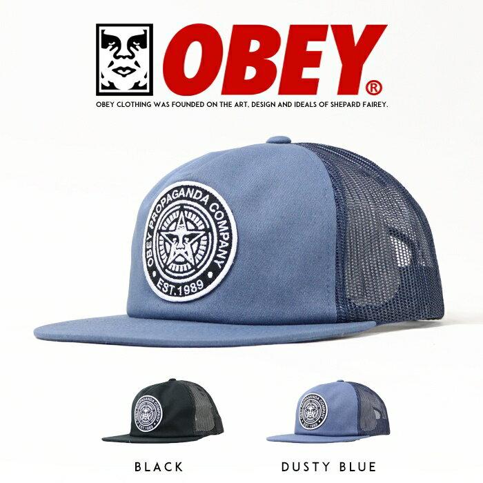 【OBEY オベイ】 キャップ 帽子 CAP メッシュキャップ スナップバックキャップ SNAPBACK ストリート スケボー グラフィック メンズ men's 正規品 インポート ブランド 海外ブランド 100500011