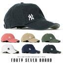 【47Brand フォーティーセブンブランド】 キャップ スナップバック ミニロゴ yankees 帽子 ニューヨーク・ヤンキース メンズ men's 国…