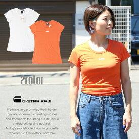 【セール 30%OFF】【G-STAR RAW ジースターロウ】 tシャツ 半袖 ロゴ トップス レディース lady's ジースターロー gstar 国内正規品 インポート ブランド 海外ブランド D09938-2757
