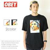 【OBEYオベイ】tシャツ半袖プリントスケートストリートグラフィックメンズmen's正規品インポートブランド海外ブランド163081733