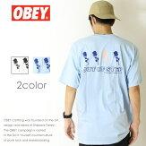【OBEYオベイ】tシャツ半袖プリントスケートストリートグラフィックメンズmen's正規品インポートブランド海外ブランド163081788
