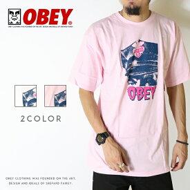 【セール 20%OFF】【OBEY オベイ】 tシャツ 半袖 プリント スケート ストリート グラフィック メンズ men's 正規品 インポート ブランド 海外ブランド ストリートブランド 163081737