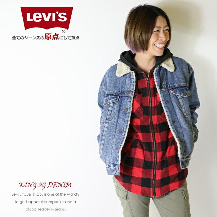 【セール 20%OFF】【リーバイス levis LEVI'S】 ジャケット ブルゾン ジージャン gジャン デニムジャケット アウター LADY'S レディース 国内正規品 インポート ブランド 海外ブランド 36137