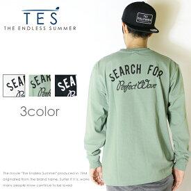 【THE ENDLESS SUMMER ザエンドレスサマー】【TES テス】 長袖tシャツ ロンT tシャツ 長袖 サーフ メンズ men's FH-8774319