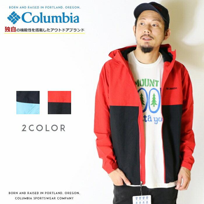 【2018年 秋冬新作】【Columbia コロンビア】 ジャケット マウンテンパーカー ウインドブレーカー アウター men's メンズ 国内正規品 インポート ブランド 海外ブランド アウトドアブランド PM3427 Vizzavona Jacket