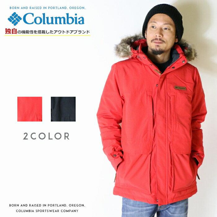 【2018年 秋冬新作】【Columbia コロンビア】 ジャケット 中綿ジャケット ナイロンジャケット 撥水加工 防寒 アウター men's メンズ 国内正規品 インポート ブランド 海外ブランド アウトドアブランド WE1250 Marquam Peak Jacket
