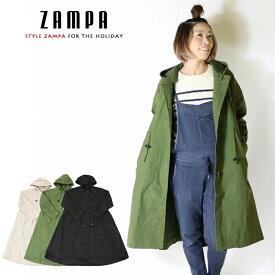 【ZAMPA ザンパ】 モッズコート コート アウター レディース lady's 国内ブランド ドメスティック ブランド style zampa for the holidays Z23069