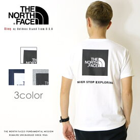 【THE NORTH FACE ザ・ノースフェイス】 tシャツ 半袖 ロゴ バックプリント ザノースフェイス メンズ men's 国内正規品 インポート ブランド 海外ブランド アウトドアブランド NT31957
