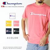 【Championチャンピオン】tシャツ半袖ロゴクルーネックベーシックトップスメンズmen'sレディース国内正規品インポートブランド海外ブランドC3-P302