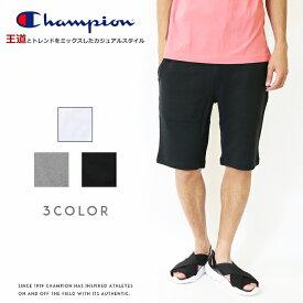 【Champion チャンピオン】 ハーフパンツ ショートパンツ ショーツ スウェットパンツ ロゴ メンズ men's 国内正規品 インポート ブランド 海外ブランド C3-D519