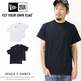 【定番2枚組】【NEWERA ニューエラ NEW ERA】 tシャツ 半袖 定番 2枚セット メンズ men's 国内正規品 インポート ブランド 海外ブランド 11229177/11229178