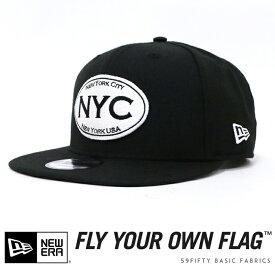 【NEWERA ニューエラ NEW ERA】 キャップ スナップバック SNAPBACK 帽子 9fifty ニューヨークシティー NYC ブラック メンズ men's 国内正規品 インポート ブランド 海外ブランド 11899185