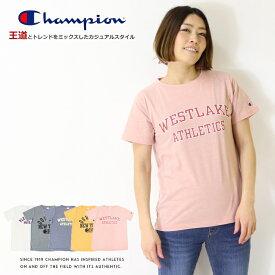 【セール】【Champion チャンピオン】 tシャツ 半袖 プリント ロゴ トップス レディース lady's 国内正規品 インポート ブランド 海外ブランド CW-P319