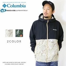 Columbia コロンビア アウター ジャケット マウンテンパーカー ウインドブレーカー パッカブル 総柄 men's メンズ 国内正規品 インポート ブランド 海外ブランド アウトドアブランド PM3728 Hazen Patterned Jacket