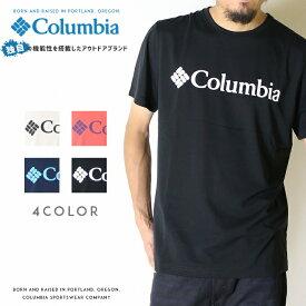 【Columbia コロンビア】 tシャツ 半袖 プリント ロゴ OMNI-WICK オムニウィック men's メンズ 国内正規品 インポート ブランド 海外ブランド アウトドアブランド PM1515 Urban Hike Short Sleeve Tee