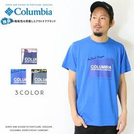 【Columbia コロンビア】 tシャツ 半袖 プリント OMNI-FREEZE ZERO men's メンズ 国内正規品 インポート ブランド 海外ブランド アウトドアブランド PM5646 Buck Lake Short Sleeve Tee