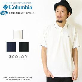 【Columbia コロンビア】 ポロシャツ 半袖 ロゴ カノコ OMNI-WICK オムニウィック men's メンズ 国内正規品 インポート ブランド 海外ブランド アウトドアブランド PM1522 Buds Blooming Polo