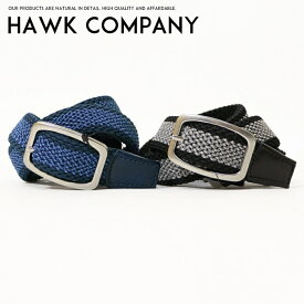 【Hawk Company ホークカンパニー】 ベルト レザーベルト カジュアル ビジネス 小物 グッズ メンズ men's レディース lady's プレゼント ギフト 彼氏 彼女 男性 女性 1171