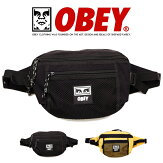 【OBEYオベイ】ウエストバッグボディバッグショルダーバッグかばんメンズレディース正規品インポートブランド海外ブランド100010108
