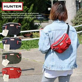 【HUNTER ハンター】 バッグ ボディバッグ ウエストバッグ 鞄 小物 レディース lady's 国内正規品 インポート ブランド 海外ブランド UBP7020KBM