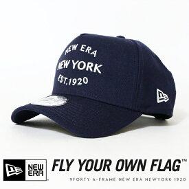 【NEWERA ニューエラ NEW ERA】 キャップ スナップバック SNAPBACK NEW YORK 帽子 9FORTY A-FRAME メンズ men's 国内正規品 インポート ブランド 海外ブランド 12108931