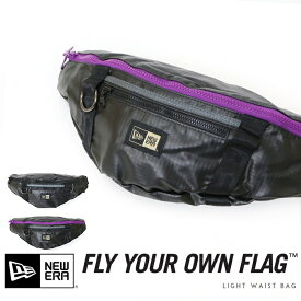 【NEWERA ニューエラ NEW ERA】 ライトウエストバッグ ボディバッグ ショルダー バッグ かばん 2L men's メンズ プレゼント 彼氏 男性 WAIST BAG/ウエストバッグ N0010137/N0010138