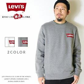 【セール 30%OFF】【リーバイス levis LEVI'S】 スウェット トレーナー クルーネック バットウィング ロゴ メンズ MEN'S 国内正規品 インポート ブランド 海外ブランド 56606