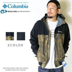 【セール 20%OFF】【Columbia コロンビア】 ジャケット ブルゾン アウター フリース フード 迷彩 カモフラージュ men's メンズ 国内正規品 インポート ブランド 海外ブランド アウトドアブランド PM3753 Loma Vista Hoodie
