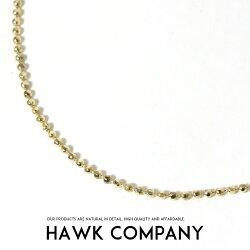 【HawkCompanyホークカンパニー】ネックレスチェーンボール小物グッズアクセサリープレゼントメンズmen'sレディースlady's5369-01