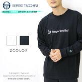 【セルジオ・タッキーニsergiotacchini】長袖tシャツロンTtシャツロゴ刺繍ストリートトップスmen'sメンズ国内正規品インポートブランドスポーツブランド海外ブランドTK-9761002