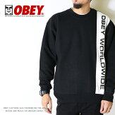 【OBEYオベイ】スウェットトレーナークルーネックストリートスケートグラフィックメンズmen's正規品インポートブランド海外ブランドストリートブランド1124-800-51
