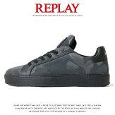 【REPLAYリプレイ】スニーカーシューズ靴くつローカット迷彩カモフラージュリプレイジーンズメンズMEN'S国内正規品インポートブランド海外ブランドGMZ97-000-C0021S