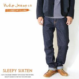 【2019年 秋冬新作】【nudie jeans ヌーディージーンズ】 Sleepy Sixten スリーピーシクステン リラックスストレート ドライ men's メンズ インポートブランド 海外 ブランド 50161-1063-N503
