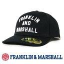 【2019年 秋冬新作】【フランクリン マーシャル FRANKLIN & MARSHALL】 キャップ 帽子 CAP アジャスター 小物 franklin&marshall MEN'S メンズ 国内正規品 インポート ブランド 海外ブランド 50183-7009